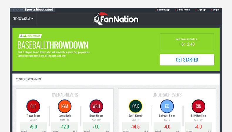FanNation website