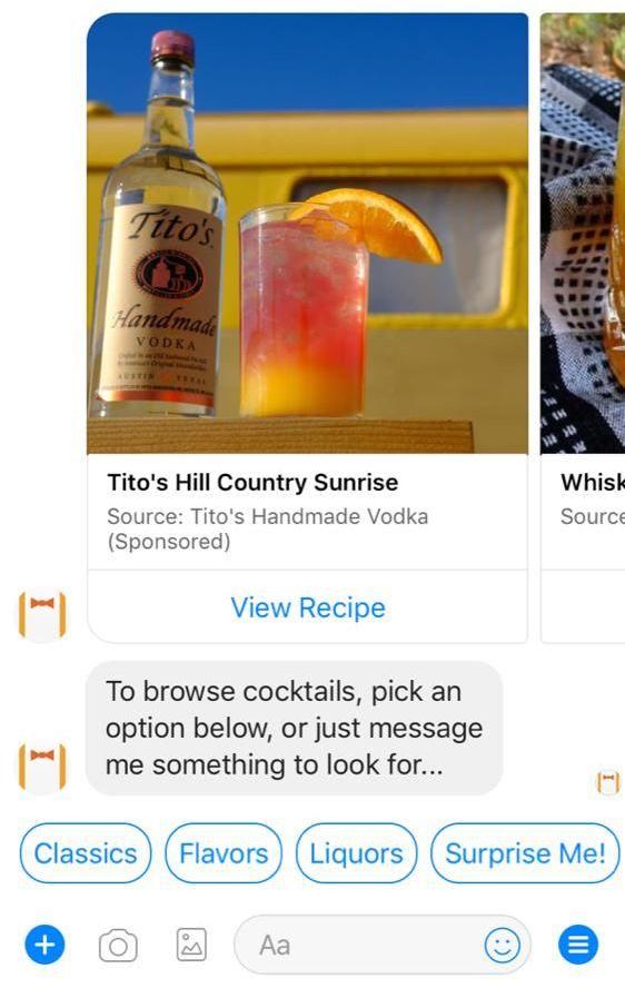 Allrecipes partners with Tito's Handmade Vodka